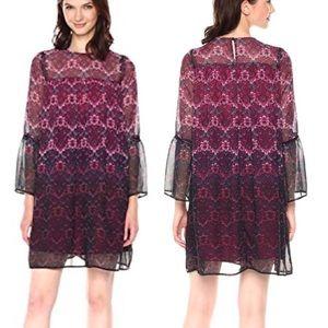 Nanette Lepore Moody Romance Shift Dress